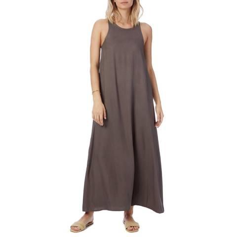 N°· Eleven Stone Grey Herringbone Tape Dress
