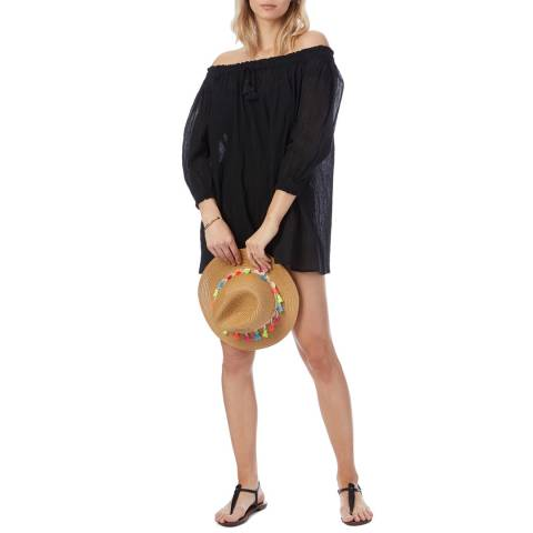 N°· Eleven Black Cotton Tunic