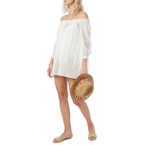 N°· Eleven White Cotton Tunic