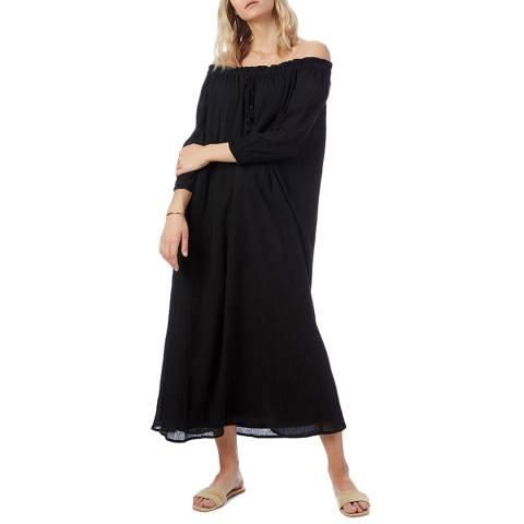 N°· Eleven Black Cotton Dress
