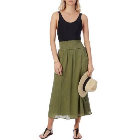 N°· Eleven Khaki Cotton Skirt