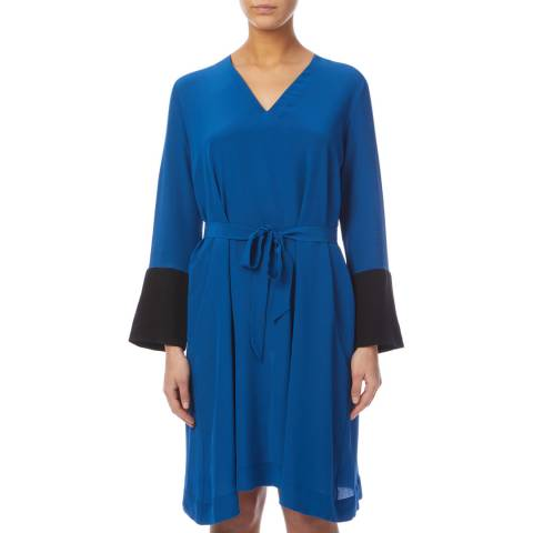 PAUL SMITH Cobalt Silk Dress