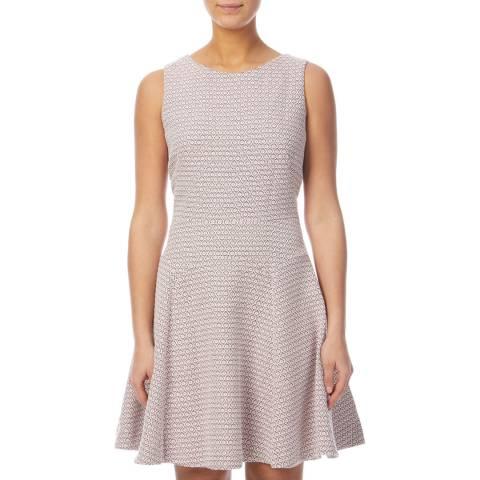 PAUL SMITH Pink Jacquard Dress