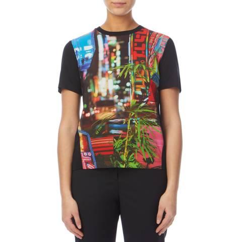 PAUL SMITH Black City Lights Print T-Shirt