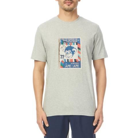 PAUL SMITH Grey Monkey Regular T-Shirt
