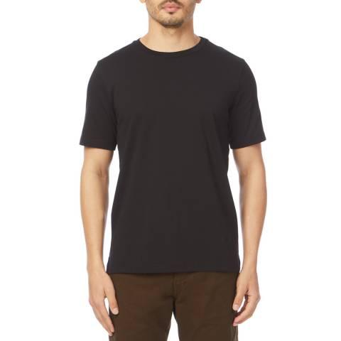 PAUL SMITH Black Crew Neck Cotton T-Shirt