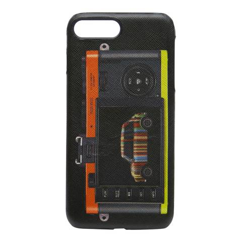 PAUL SMITH Black Leica Mini Print iPhone 7 Case