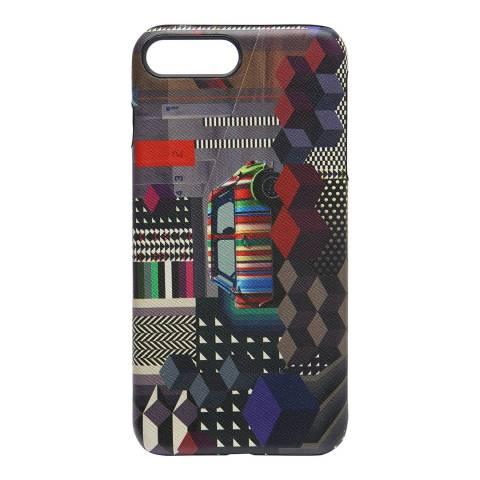 PAUL SMITH Black Mini Geo Print iPhone7 Case