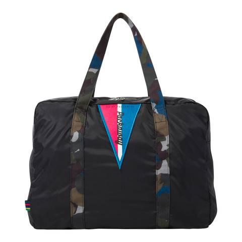 PAUL SMITH Black Fluro Gym Folio Bag