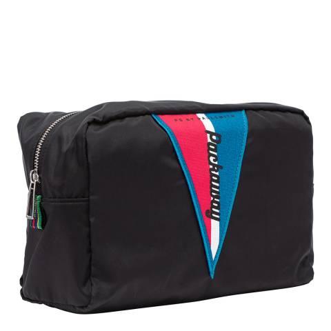 PAUL SMITH Black Signature Patch Wash Bag