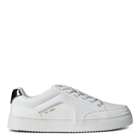 Kurt Geiger White Retro Sneaker