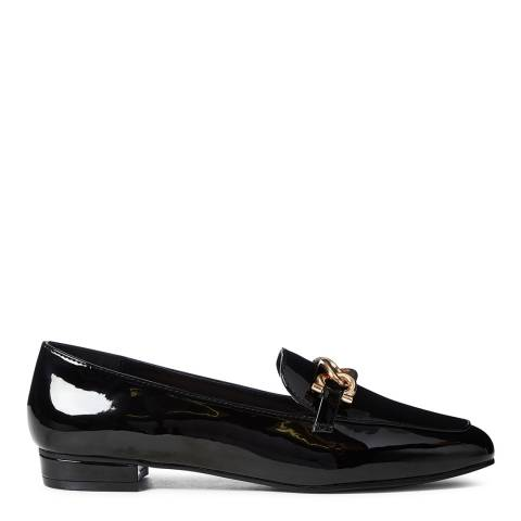 Carvela Black Patent Marble Loafers