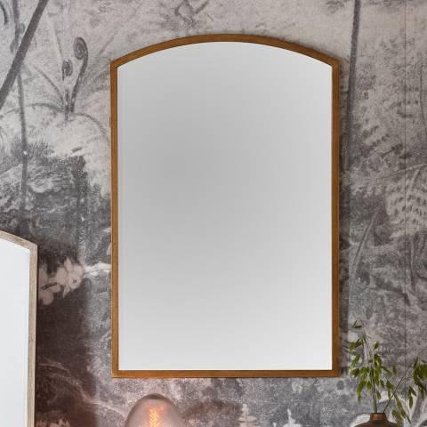 Gallery Antique Gold Higgins Arch Mirror 60x150cm