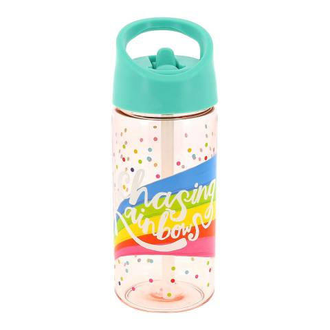 The Happy News Chasing Rainbows Water Bottle