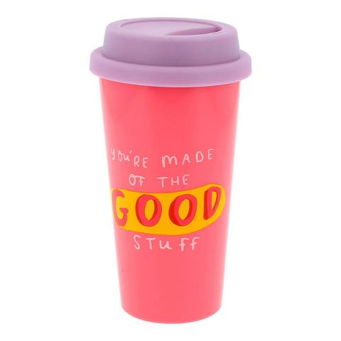The Happy News Good Stuff Travel Mug