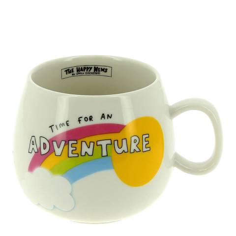 The Happy News Ceramic Adventure Mug