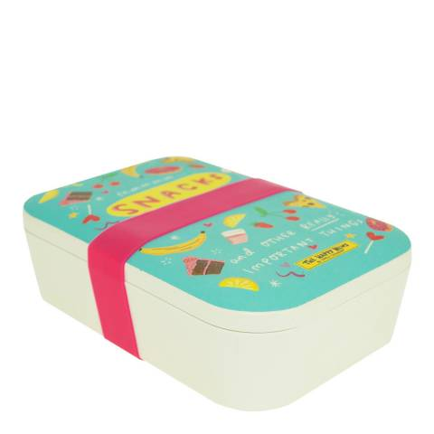 The Happy News Bamboo Lunch Box