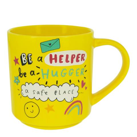 The Happy News Yellow Happy Mug