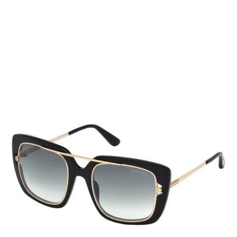 Tom Ford Women's Black Tom Ford Sunglasses 52mm
