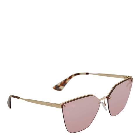 Prada Women's Gold Prada Sunglasses 63mm