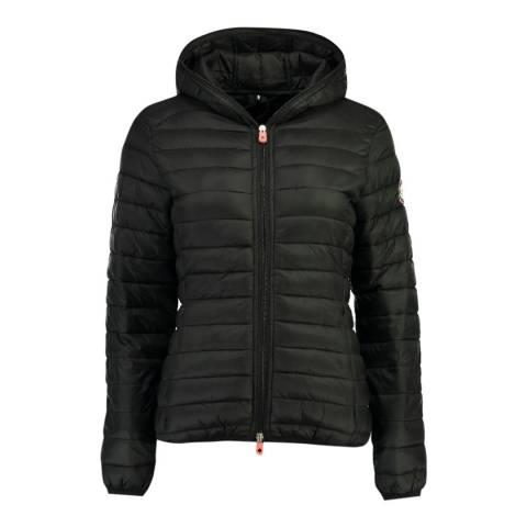 Canadian Peak Black Dayday Hooded Jacket