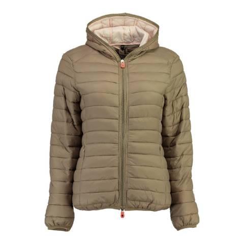 Canadian Peak Taupe Dayday Hooded Jacket