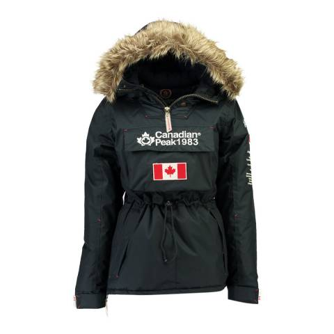 Canadian Peak Navy Banella Pull Over Jacket