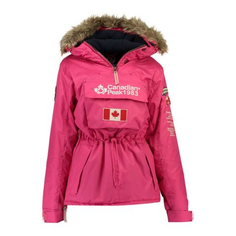 Canadian Peak Old Pink Banella Pull Over Jacket