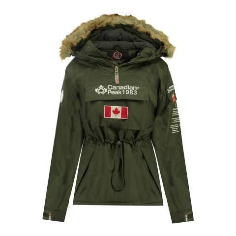 Canadian Peak Kaki Banella Pull Over Jacket