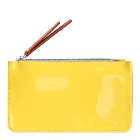 Caroline Gardner Yellow Patent Everyday Purse