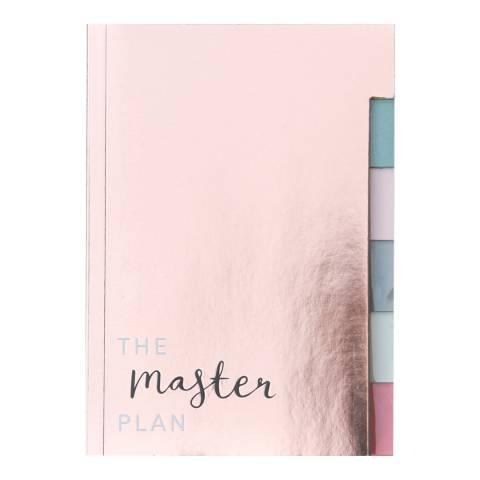 Caroline Gardner Multi Tab Notebook - Rose Gold