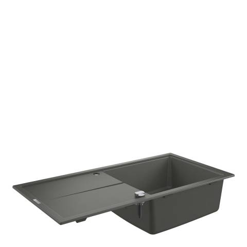 GROHE K400 Granite Grey 1 Bowl Sink with Composite Drainer