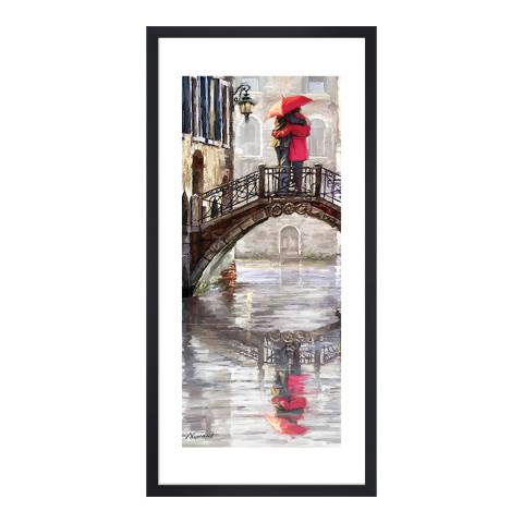 Richard Macneil Canal Bridge, 50x100cm