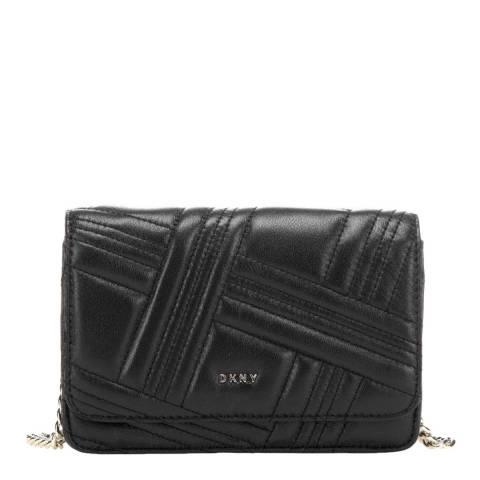 DKNY Black Quilted Allen Wallet Bag