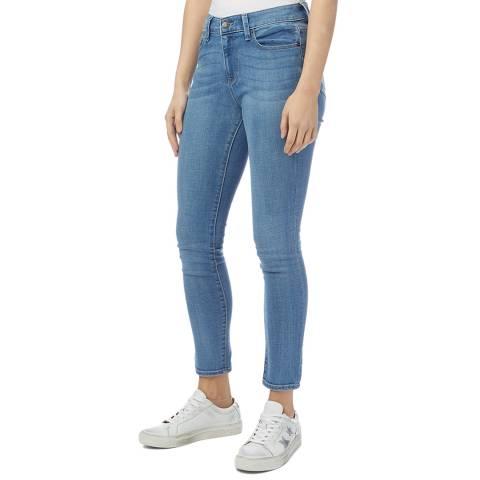 DKNY Blue Foundation Skinny Stretch Jeans