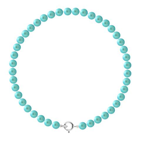 Manufacture Royale Silver/Turquoise Pearl Bracelet