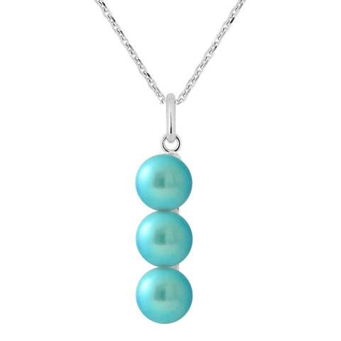 Manufacture Royale Silver/Turquoise Pearl Necklace
