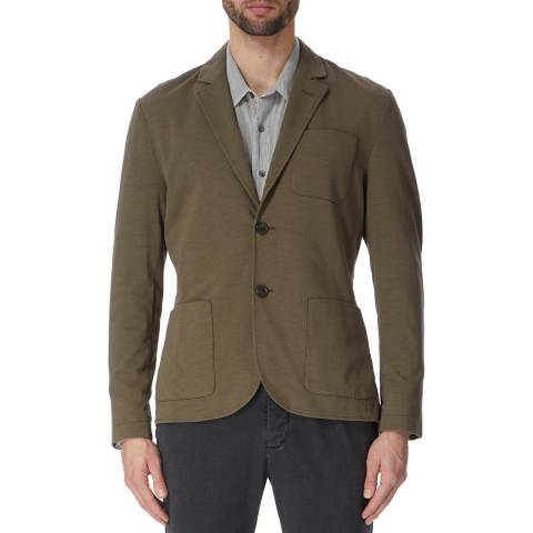 James Perse Heavy Slub Jersey Blazer