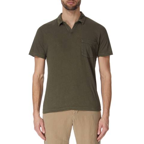 James Perse Linen Cotton S/S Polo