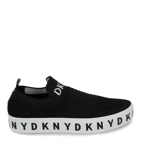DKNY Black Brea Slip On Platform Sneakers