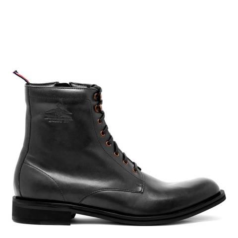 Thomas Partridge Black Leather Linton Boots