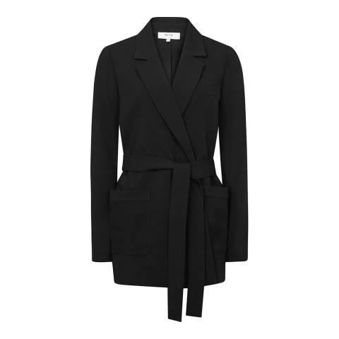 Reiss Black Prairie PJ Jacket