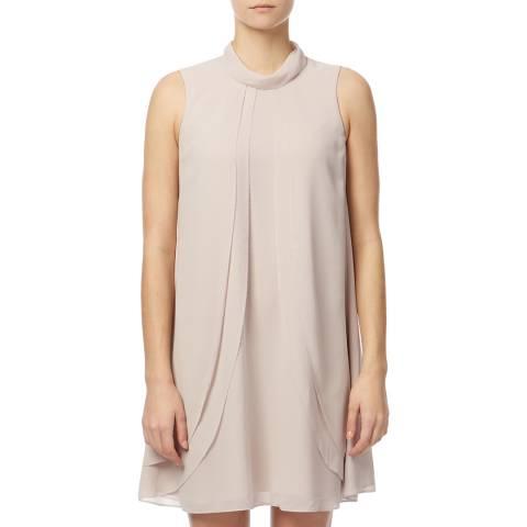 Reiss Ash Pink Cohen Ruffle Dress