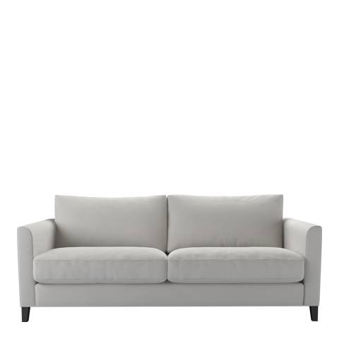 sofa.com Izzy 3 Seat Sofa in Alabaster Brushed Linen Cotton