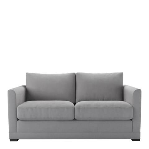 sofa.com Aissa 2 Seat Sofa (breaks down) in Cobble Brushed Linen Cotton