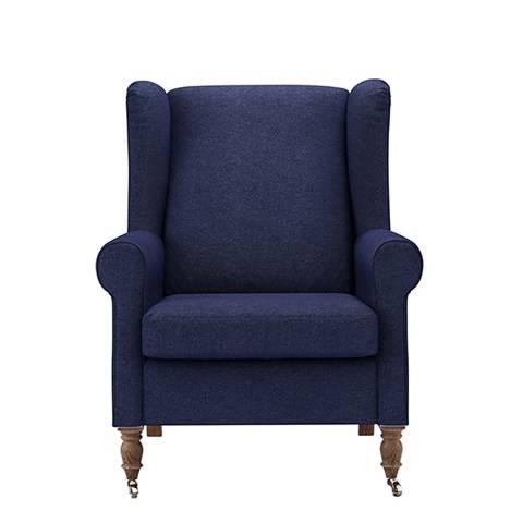sofa.com Duke Armchair in Woad Soft Wool