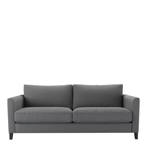 sofa.com Izzy 3 Seat Sofa (breaks down) in Shadow Brushed Linen Cotton