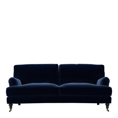 sofa.com Bluebell 3 Seat Sofa in Admiral Smart Cotton