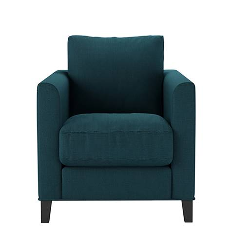 sofa.com Izzy Armchair in Evergreen  Brushed Linen Cotton