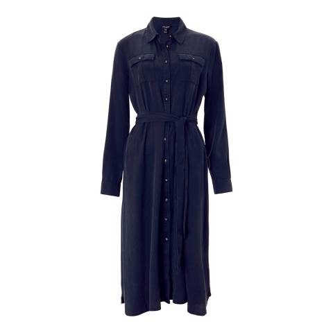 Baukjen Classic Navy Lindon Shirt Dress